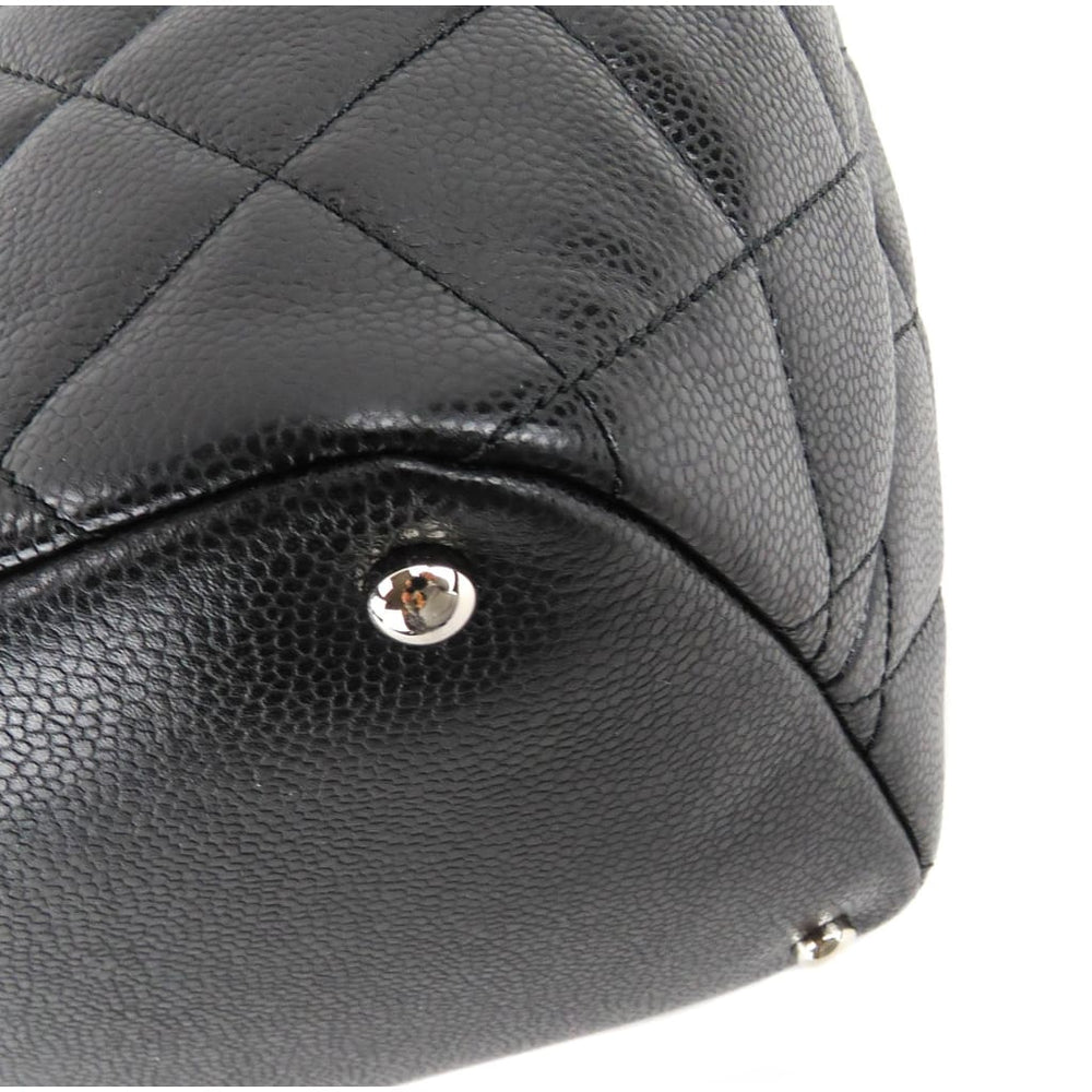 Chanel Black Caviar Quilted Leather Timeless Soft Shopper Tote Bag - Shoulder  Bags. 1 5df94d89bf6b3