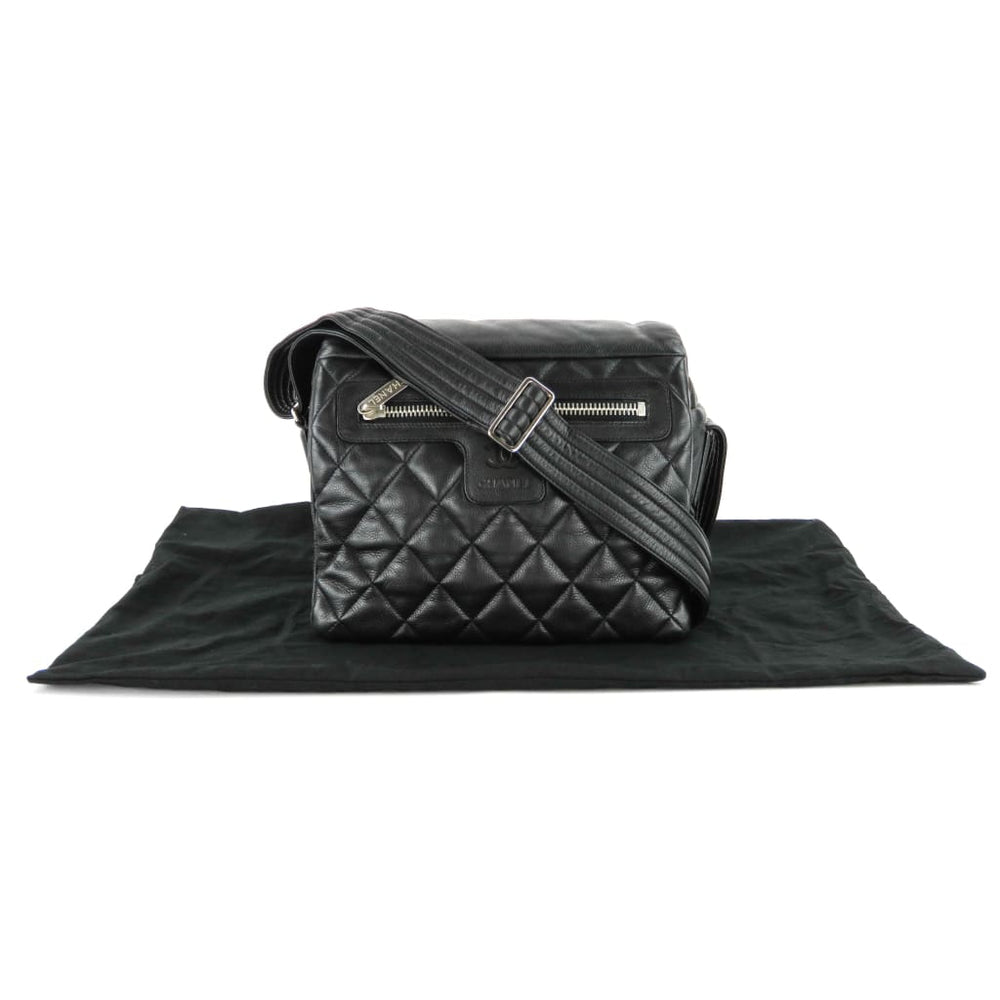 87481e15ee5ab0 Chanel Black Quilted Caviar Leather Coco Cocoon Messenger Bag -  Messengers/Diaper Bags. 1