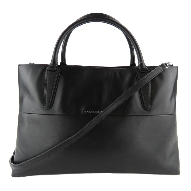 Coach Black Nappa Leather Borough Medium Satchel Bag - Totes