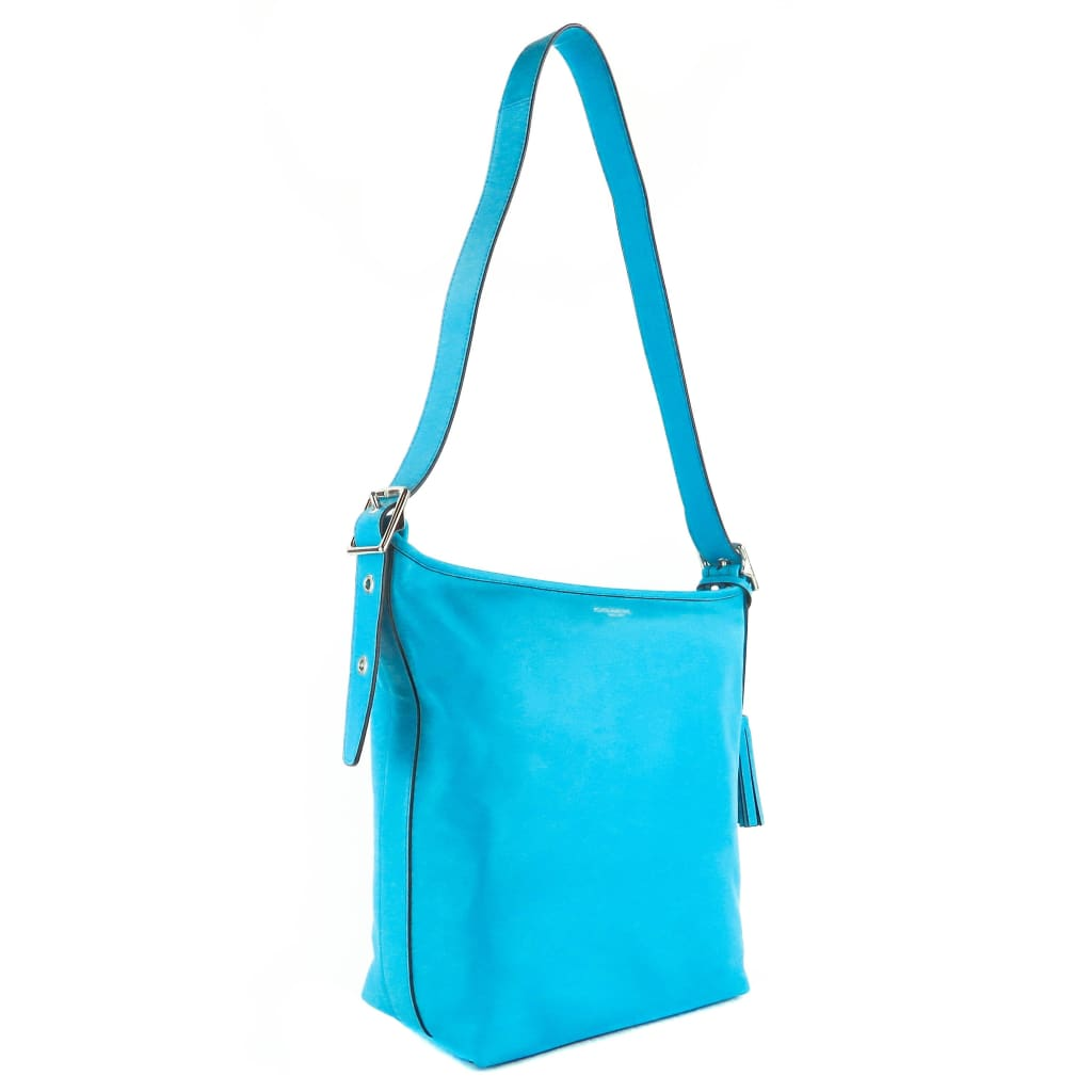 Coach Blue Leather Legacy Hobo Bag - Hobo Bags