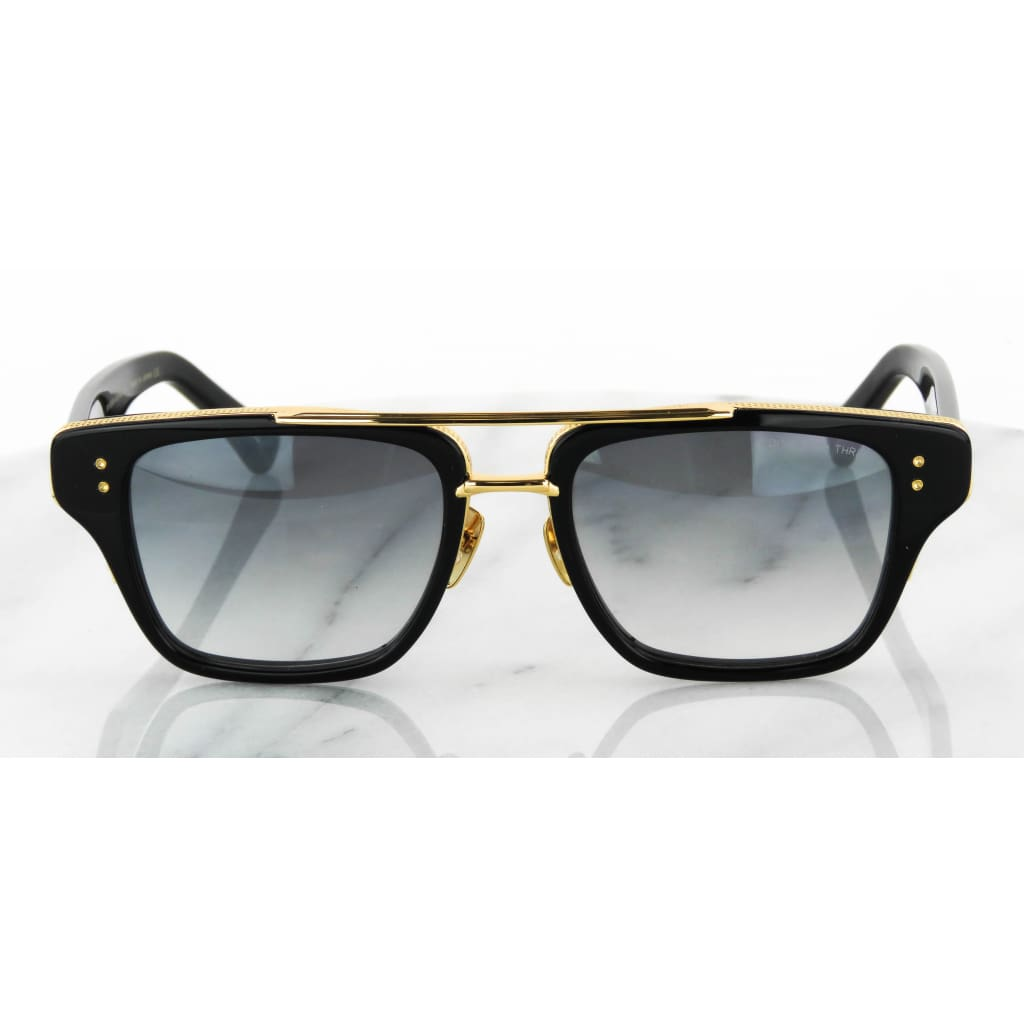 Diamante Black Mate 18K Gold Mach Three DRX-2059 Sunglasses - Sunglasses