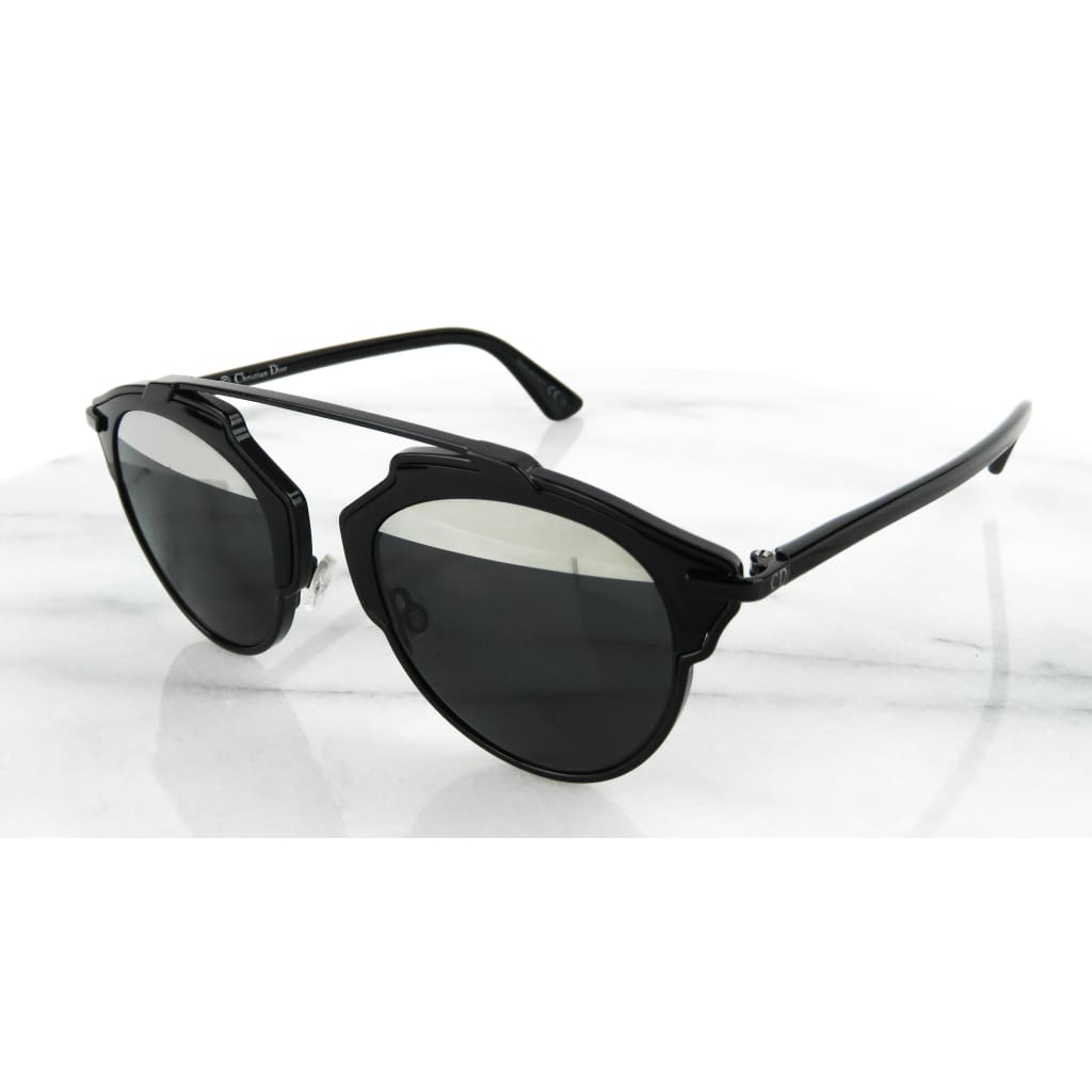 Dior Black So Real Sunglasses - Sunglasses