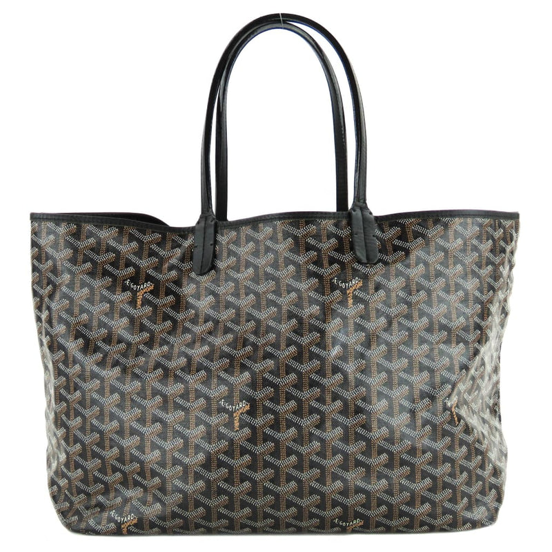 Goyard Black Monogram Canvas Saint Louis PM Tote Bag - Totes