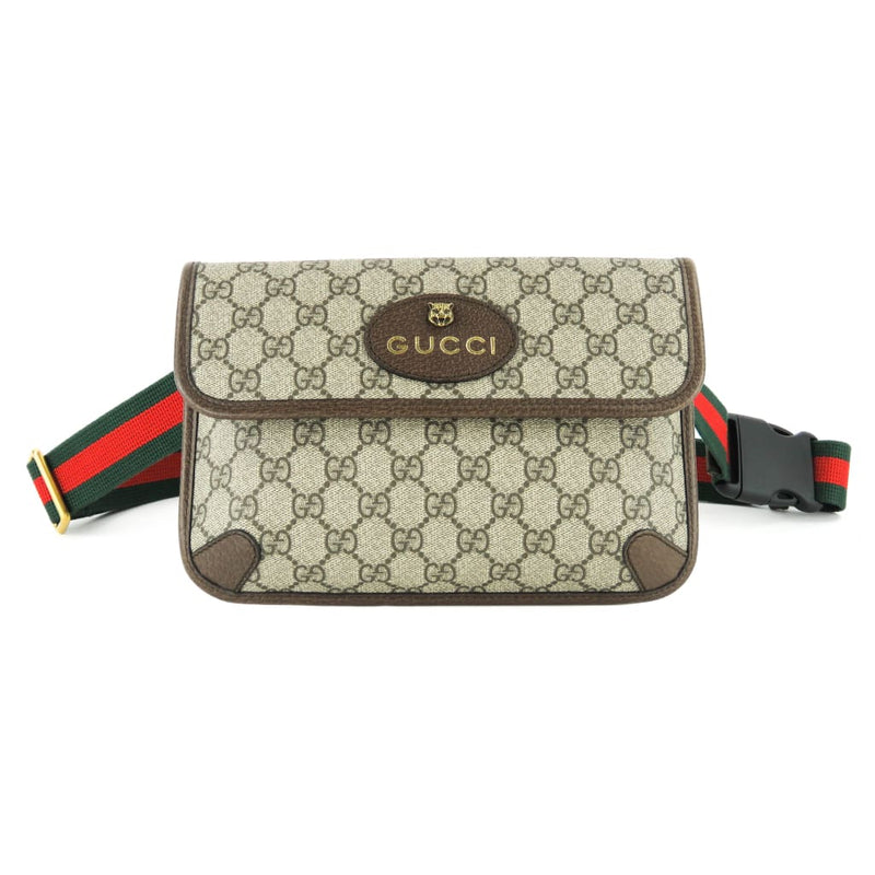 Gucci Beige GG Supreme Canvas Neo-Vintage Belt Bag - Belt Bags