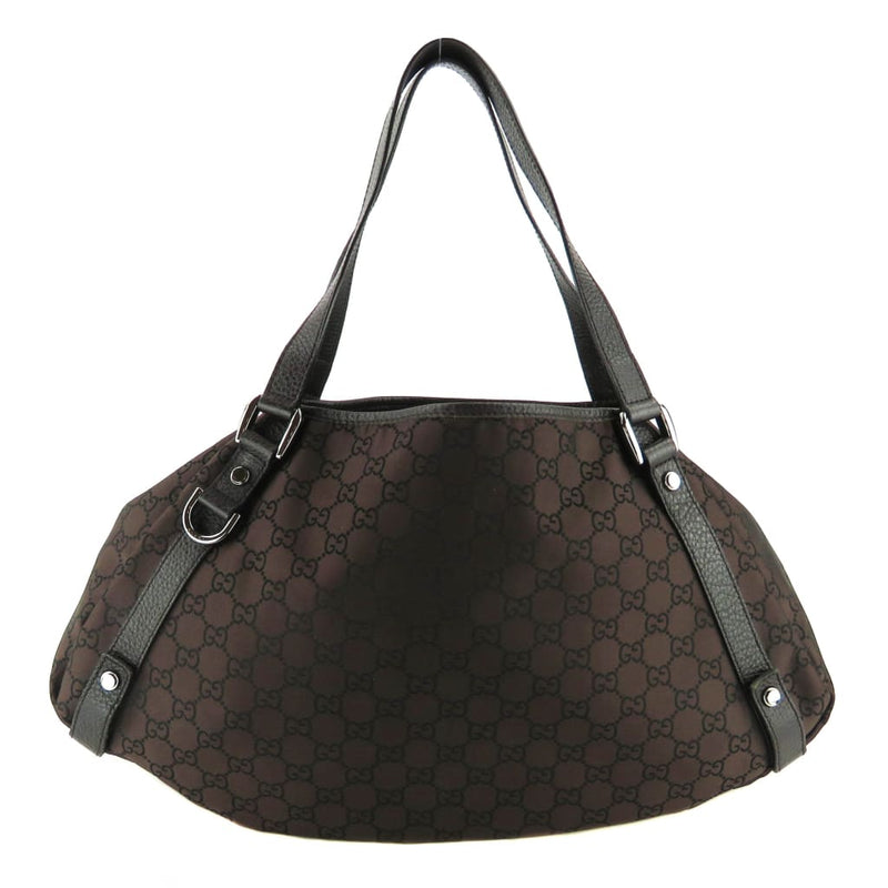 Gucci Brown GG Canvas Abbey Tote Bag - Totes