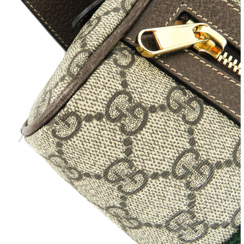 Gucci Brown GG Supreme Canvas Small Ophidia Belt Bag - Belt Bags