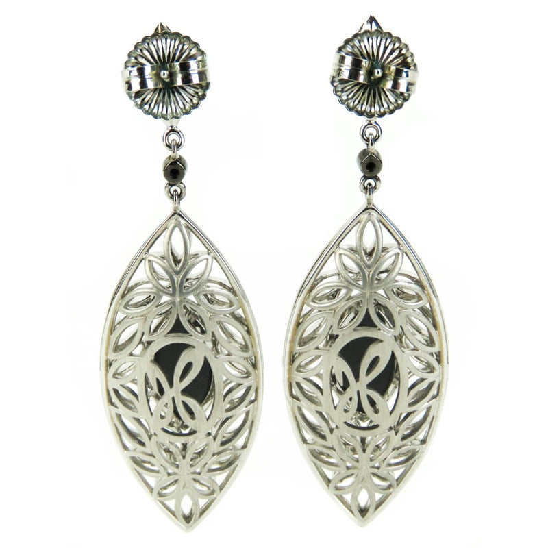 Hera Sterling Silver Hematite Mist Paradise Collection Earrings - Earrings