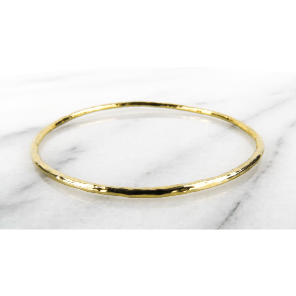 Ippolita Gold-tone Sterling Silver Bangle Bracelet - Bracelet