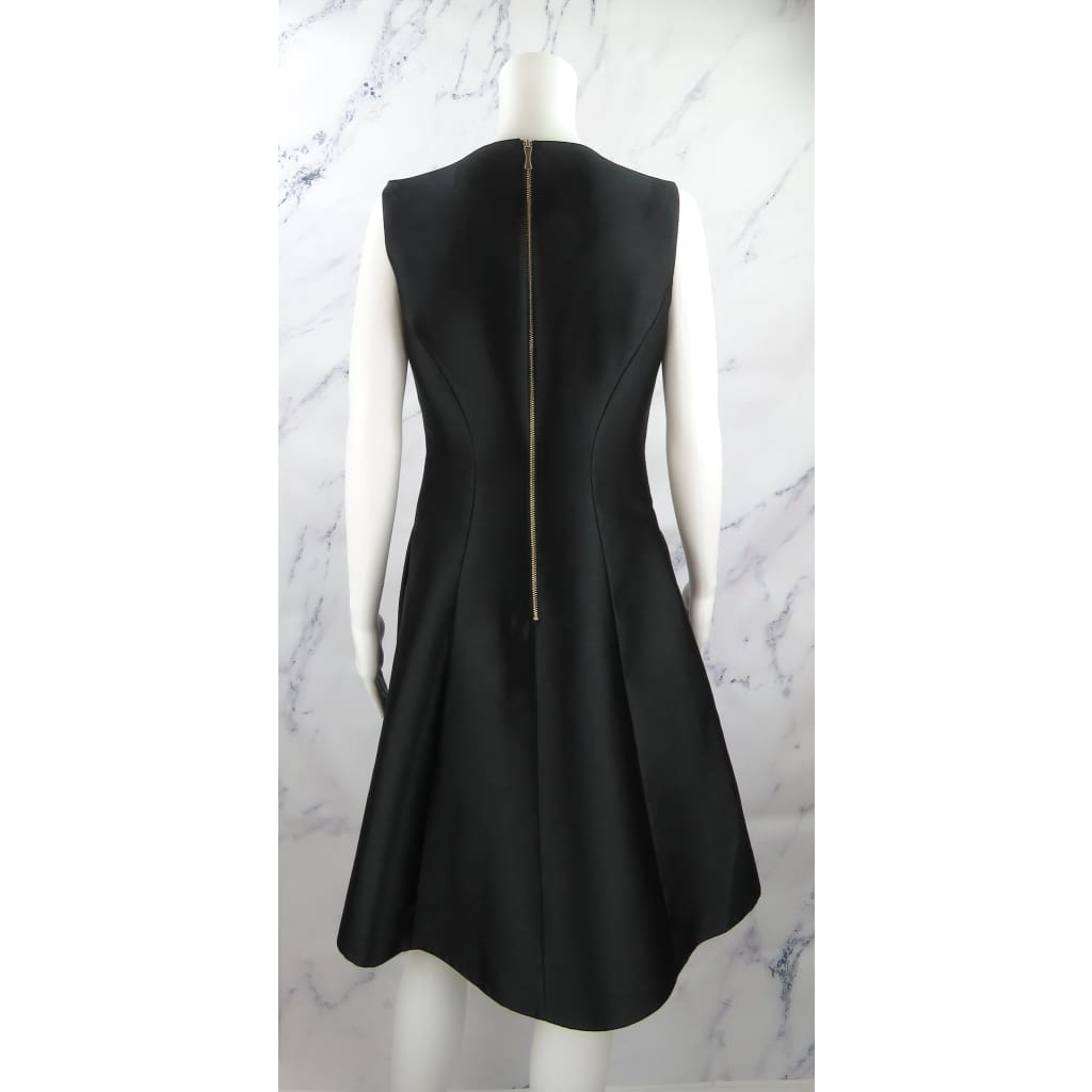 Kate Spade Black Polyester Size 8 Charleen Sleeveless Dress - Dresses