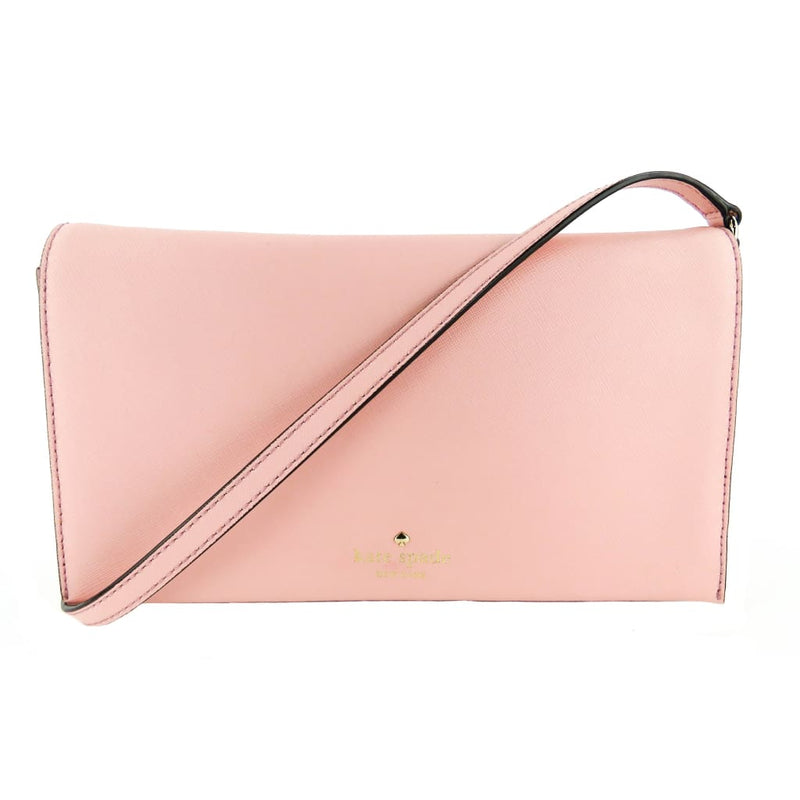 Kate Spade Pink Saffiano Leather Cedar Street Cali Clutch Crossbody Bag - Crossbodies