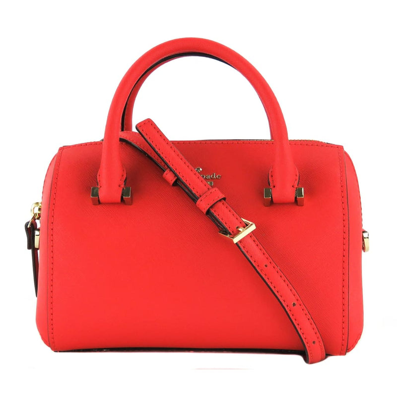 Kate Spade Red Saffiano Leather Cameron Street Lane Satchel Bag - Satchels