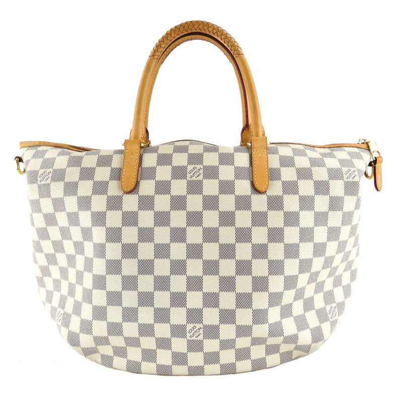 Louis Vuitton Azur Damier Canvas Riviera MM Satchel Bag - Satchels