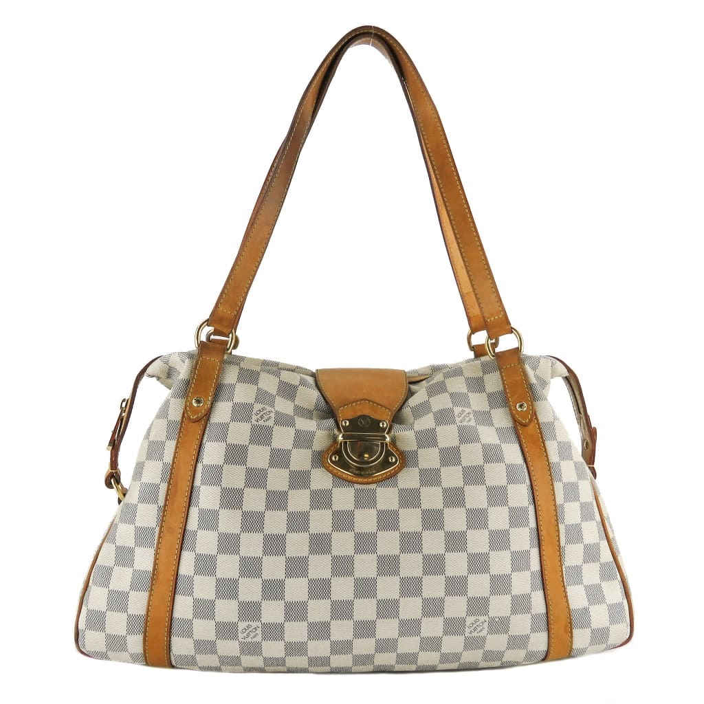 Louis Vuitton Azur Damier Canvas Stresa GM Tote Bag - Totes
