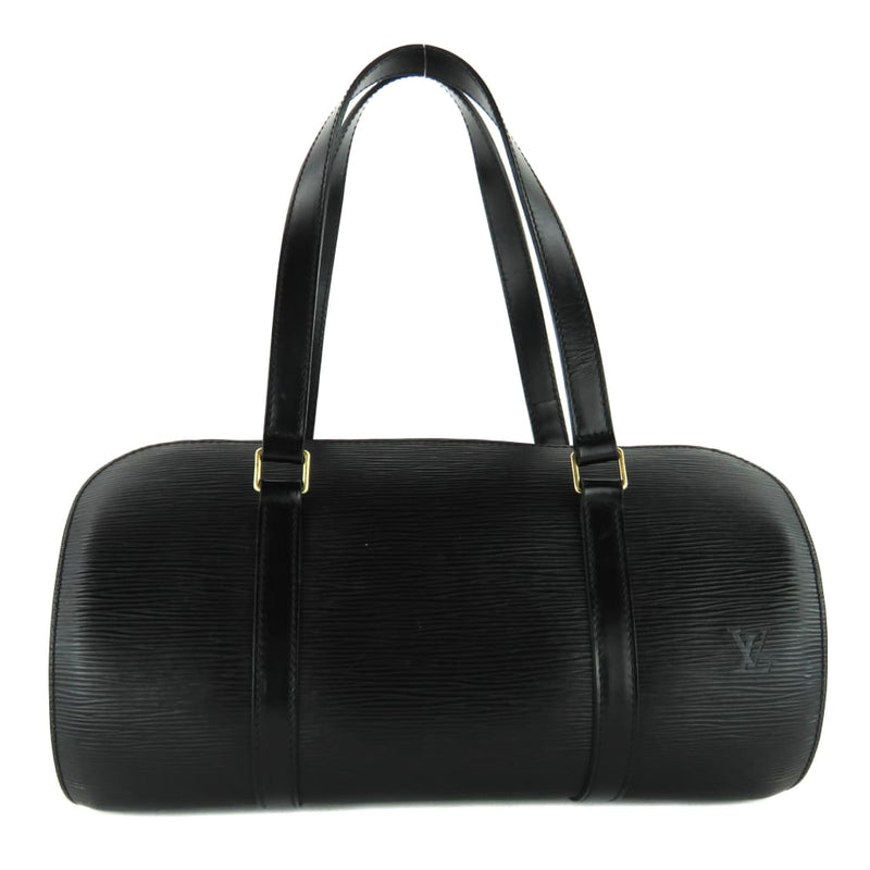 Louis Vuitton Black Epi Leather Soufflot Shoulder Bag - Shoulder Bags