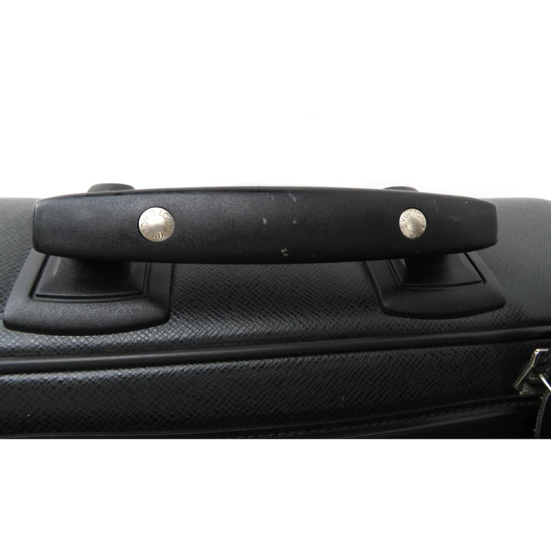 Louis Vuitton Black Taiga Leather Pegase 60 Ardoise Rolling Luggage Bag - Luggage
