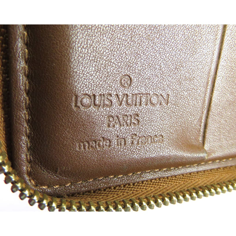 Louis Vuitton Bronze Monogram Vernis Leather Zippy Coin Wallet - Wallet