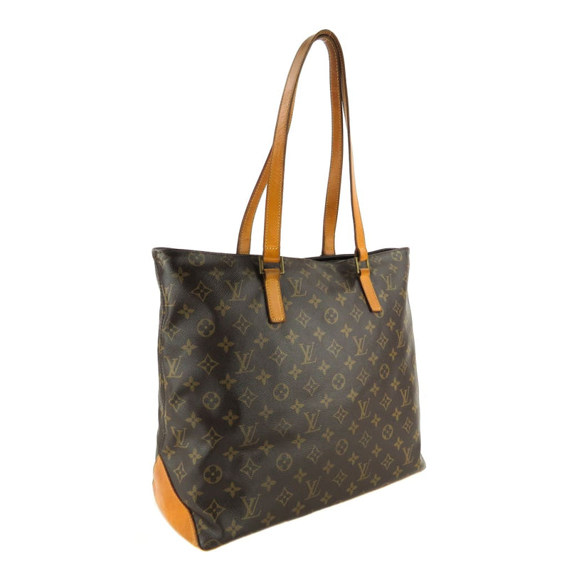 Louis Vuitton Brown Monogram Canvas Cabas Mezzo Tote Bag - Totes