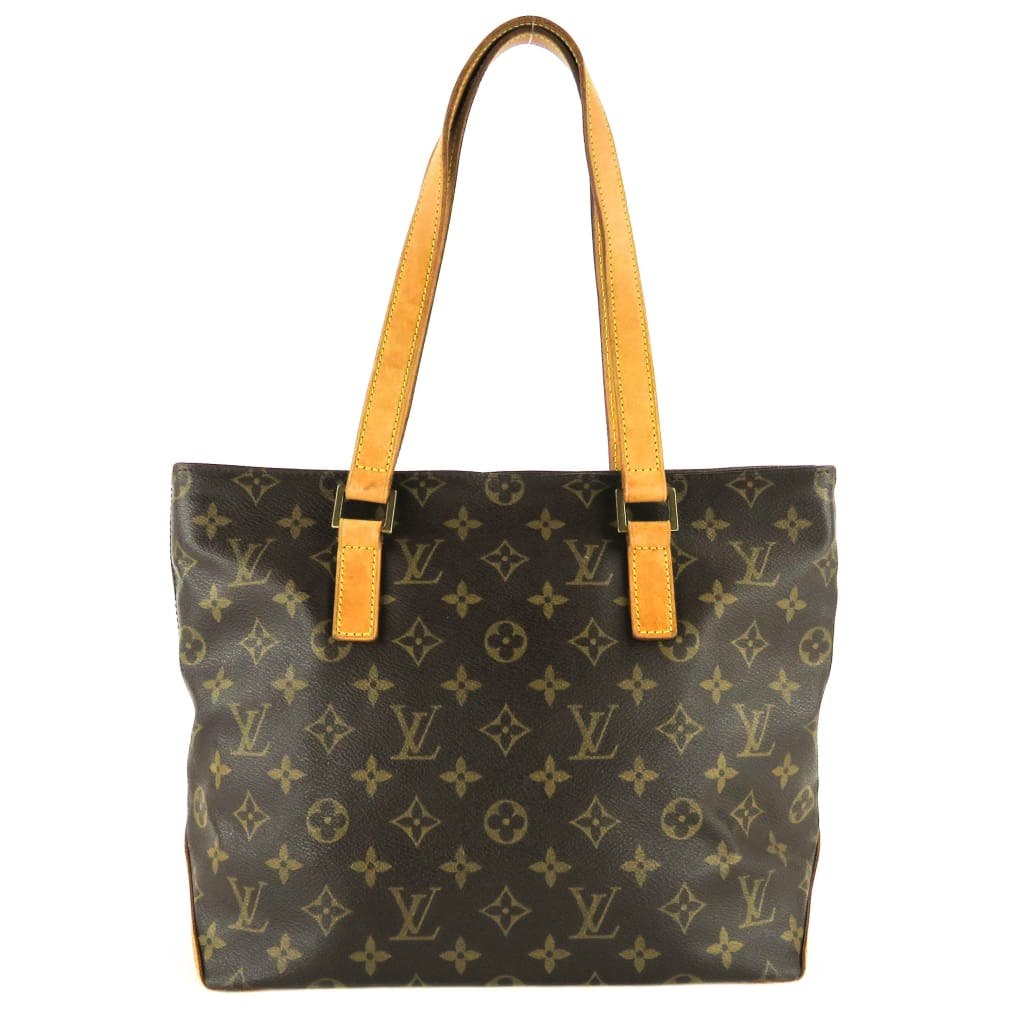 Louis Vuitton Brown Monogram Canvas Cabas Piano Tote Bag - Totes