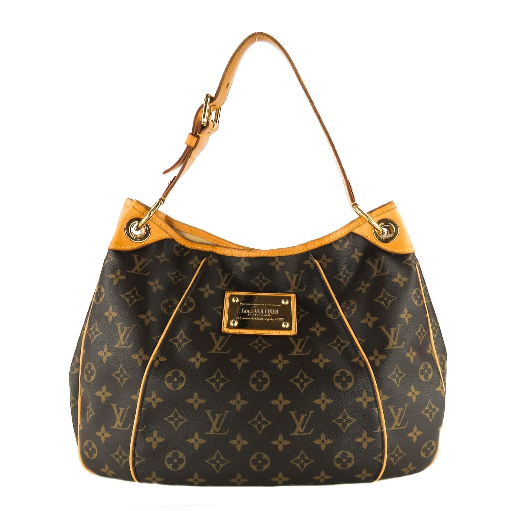 Louis Vuitton Brown Monogram Canvas Galliera PM Shoulder Bag - Totes