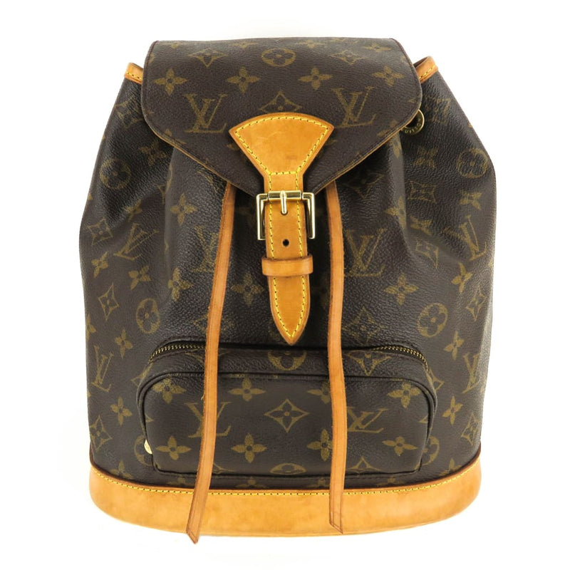 Louis Vuitton Brown Monogram Canvas Montsouris MM Backpack - Backpacks