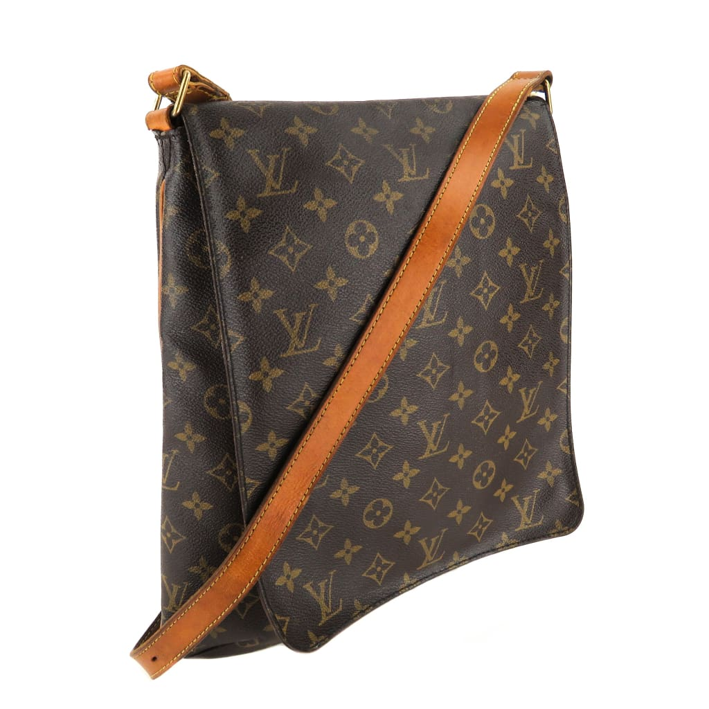 Louis Vuitton Brown Monogram Canvas Musette Salsa Crossbody Bag - Crossbodies