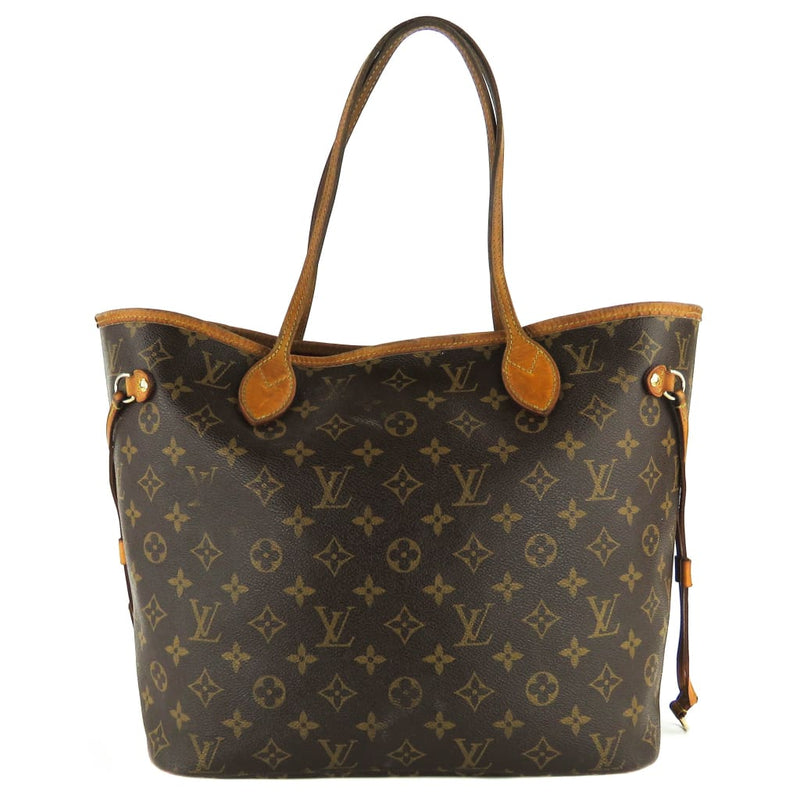 Louis Vuitton Brown Monogram Canvas Neverfull MM Tote Bag - Totes