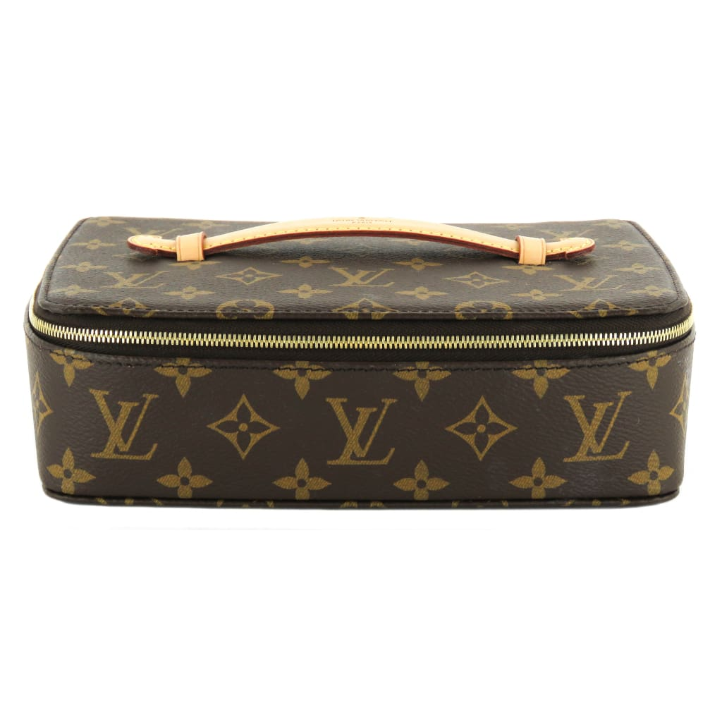 Louis Vuitton Brown Monogram Canvas Nice Jewelry Case - Jewelry Case