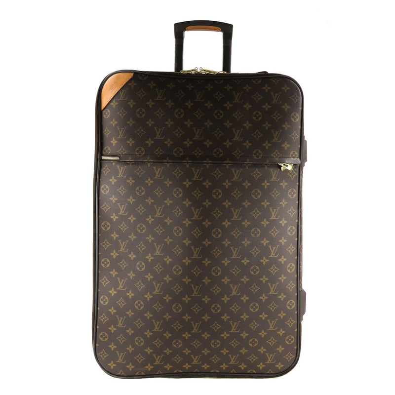 Louis Vuitton Brown Monogram Canvas Pegase 70 Rolling Luggage Bag - Luggage