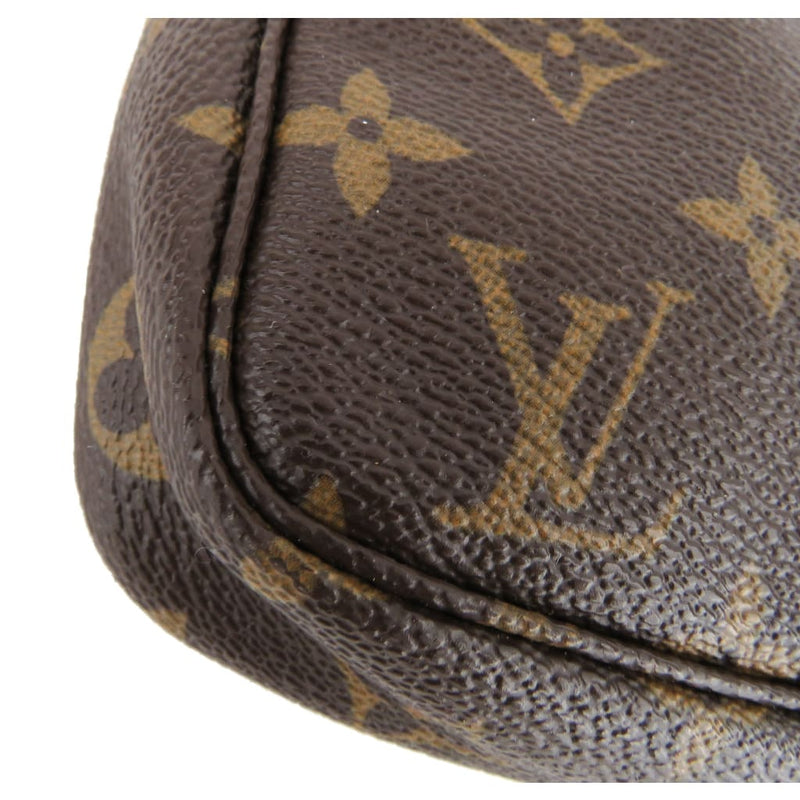 Louis Vuitton Brown Monogram Canvas Pochette Crossbody Bag - Crossbodies