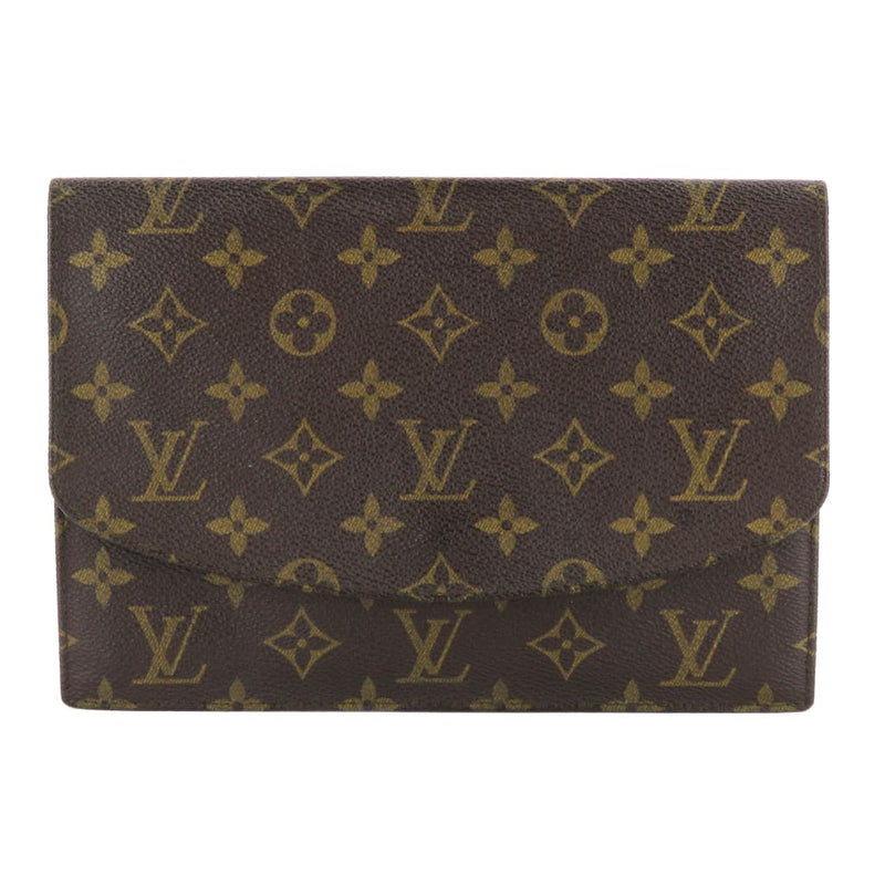 Louis Vuitton Brown Monogram Canvas Rabat 23 Pochette Clutch - Clutches