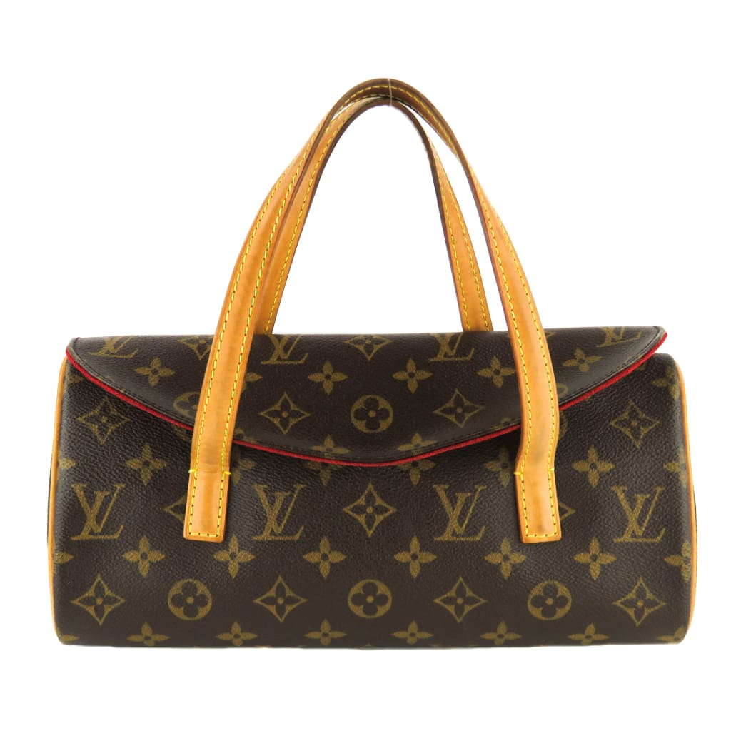 Louis Vuitton Brown Monogram Canvas Sonatine Shoulder Bag - Shoulder Bags
