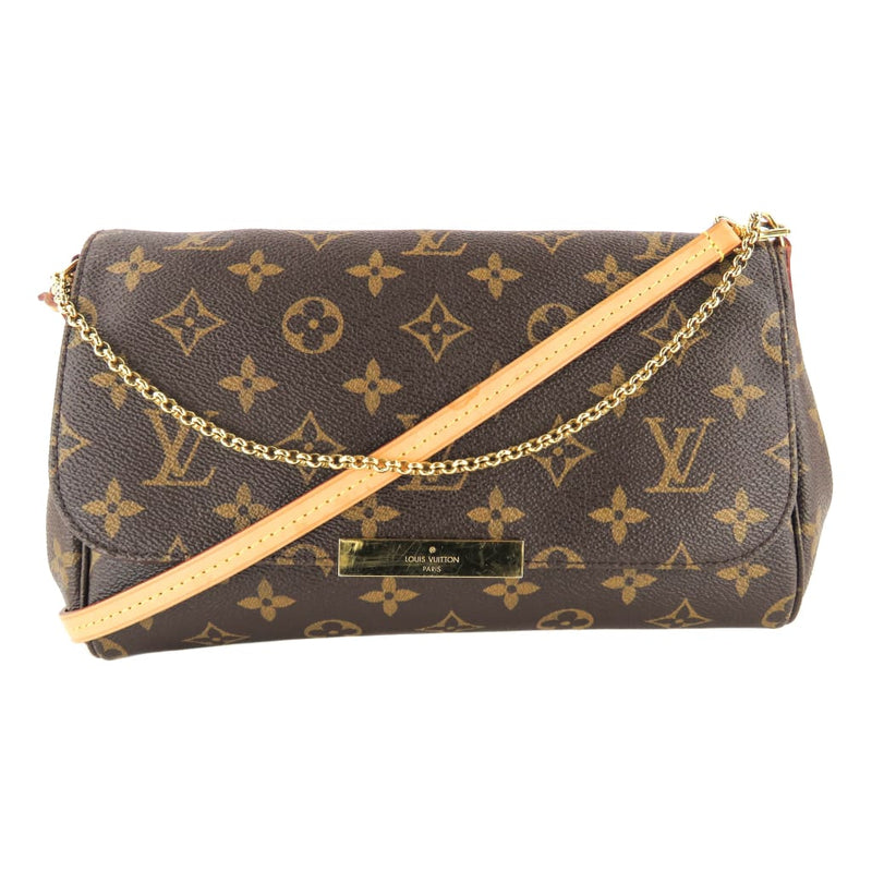 Louis Vuitton Brown Monogram Canvas The Favorite MM Crossbody Bag - Crossbodies