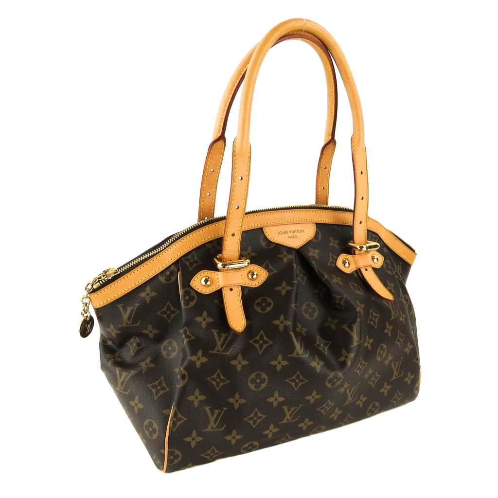 Louis Vuitton Brown Monogram Canvas Tivoli GM Satchel Bag - Satchels