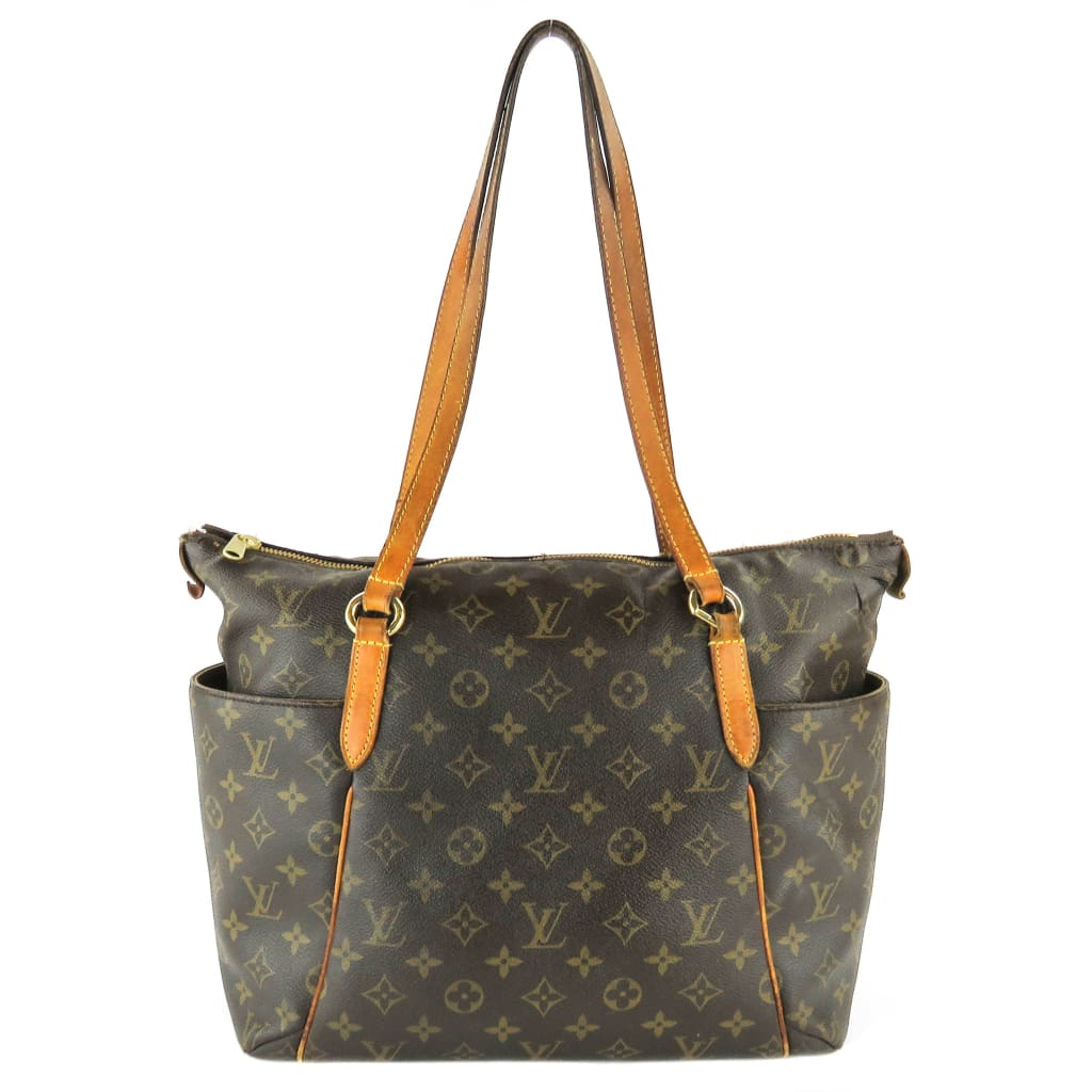 Louis Vuitton Brown Monogram Canvas Totally MM Tote Bag - Totes