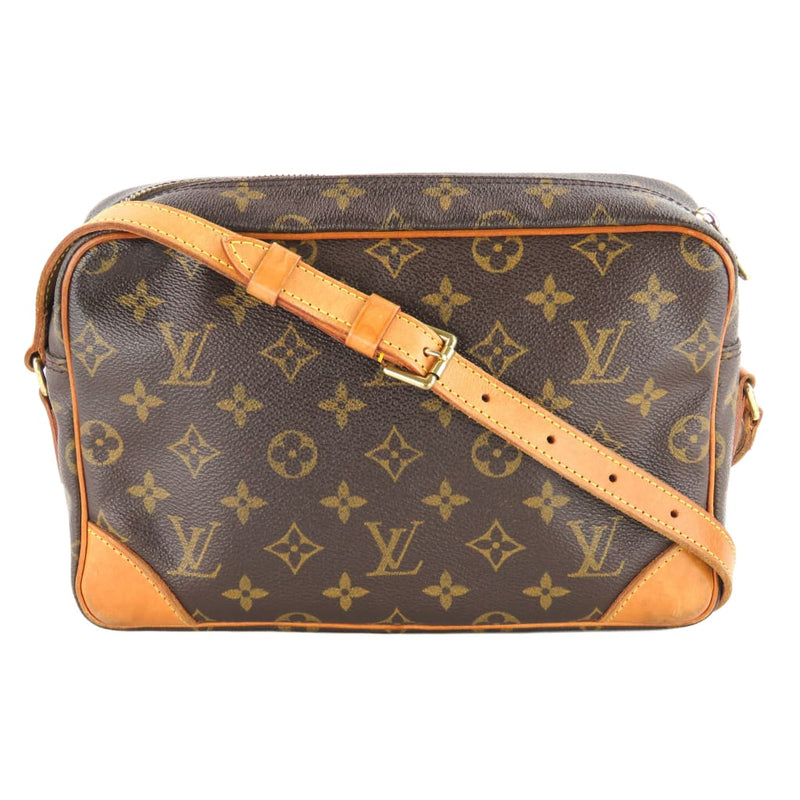 Louis Vuitton Brown Monogram Canvas Trocadero 27 Shoulder Bag - Shoulder Bags