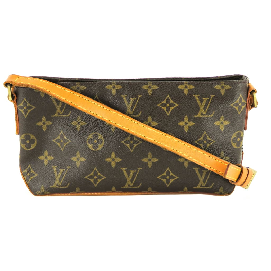 Louis Vuitton Brown Monogram Canvas Trotteur Crossbody Bag - Crossbodies