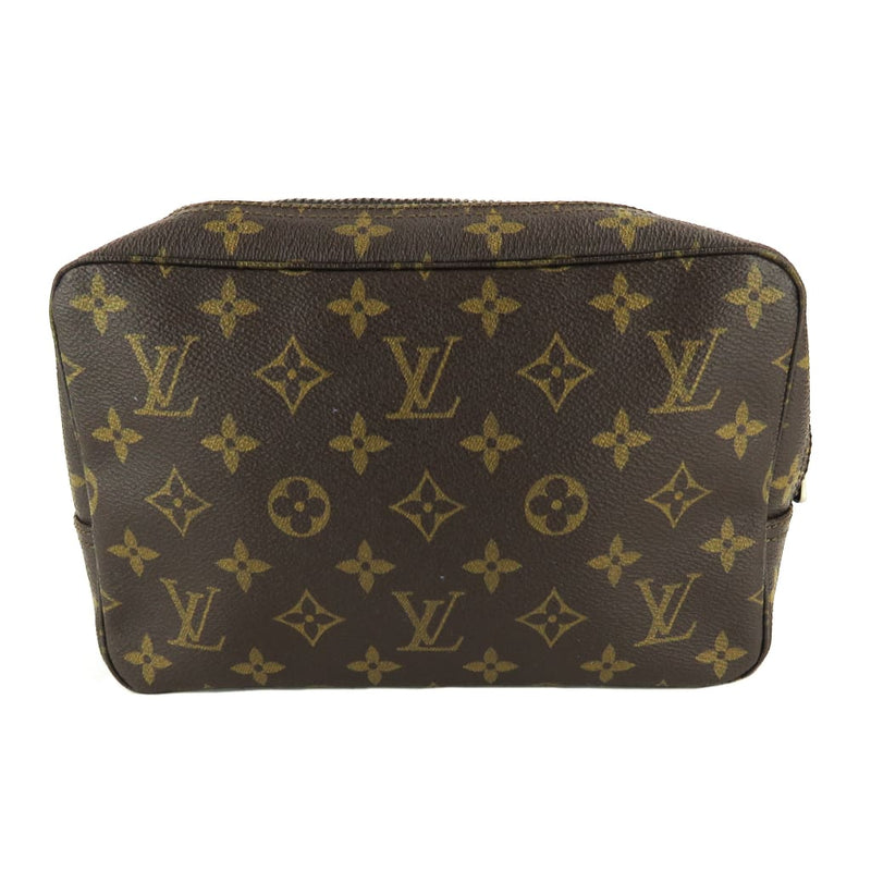 Louis Vuitton Brown Monogram Canvas Trousse de Toilette 23 Cosmetic Pouch - Cosmetic Pouch