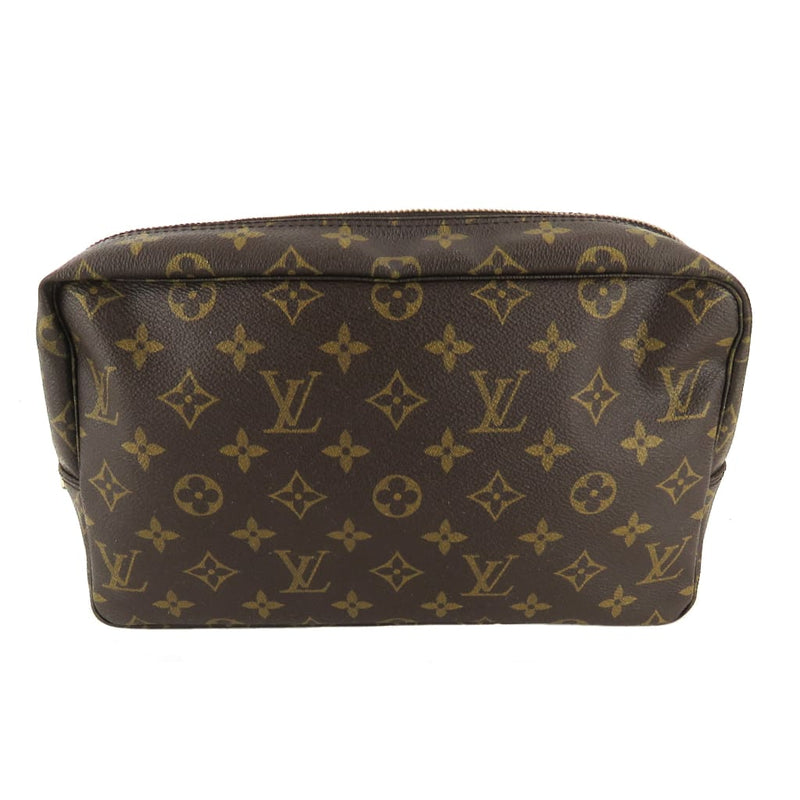 Louis Vuitton Brown Monogram Canvas Trousse de Toilette 28 Cosmetic Pouch - Cosmetic Pouch