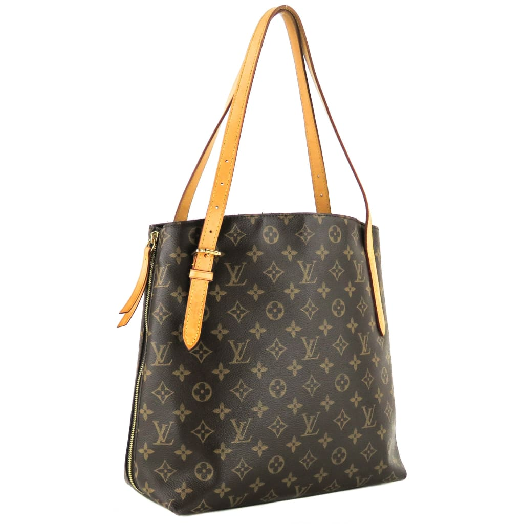 Louis Vuitton Brown Monogram Canvas Voltaire Zipper Tote Bag - Totes