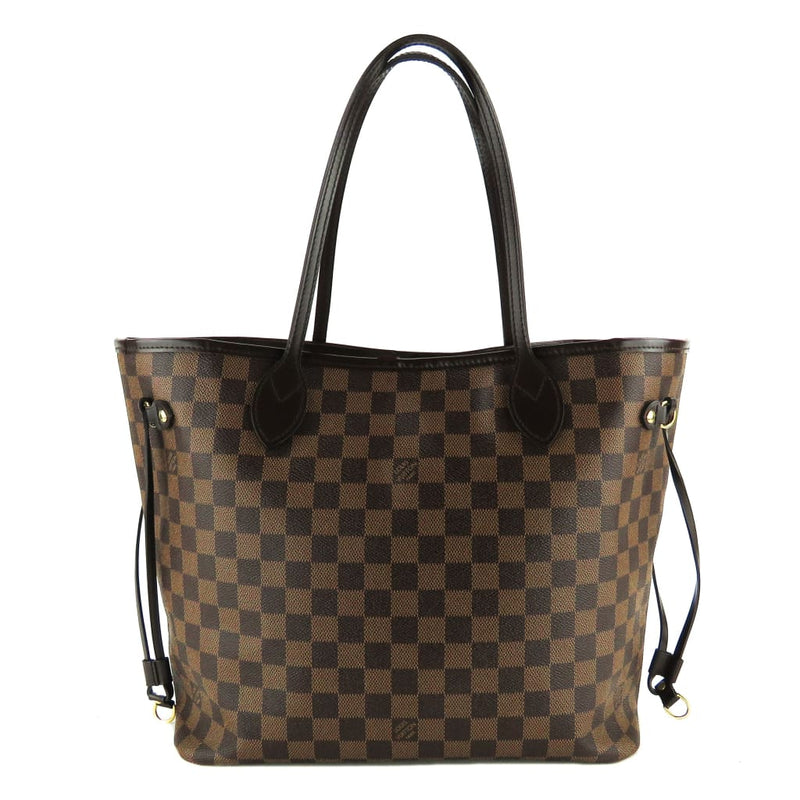 Louis Vuitton Ebene Damier Canvas Neverfull MM Tote Bag - Totes