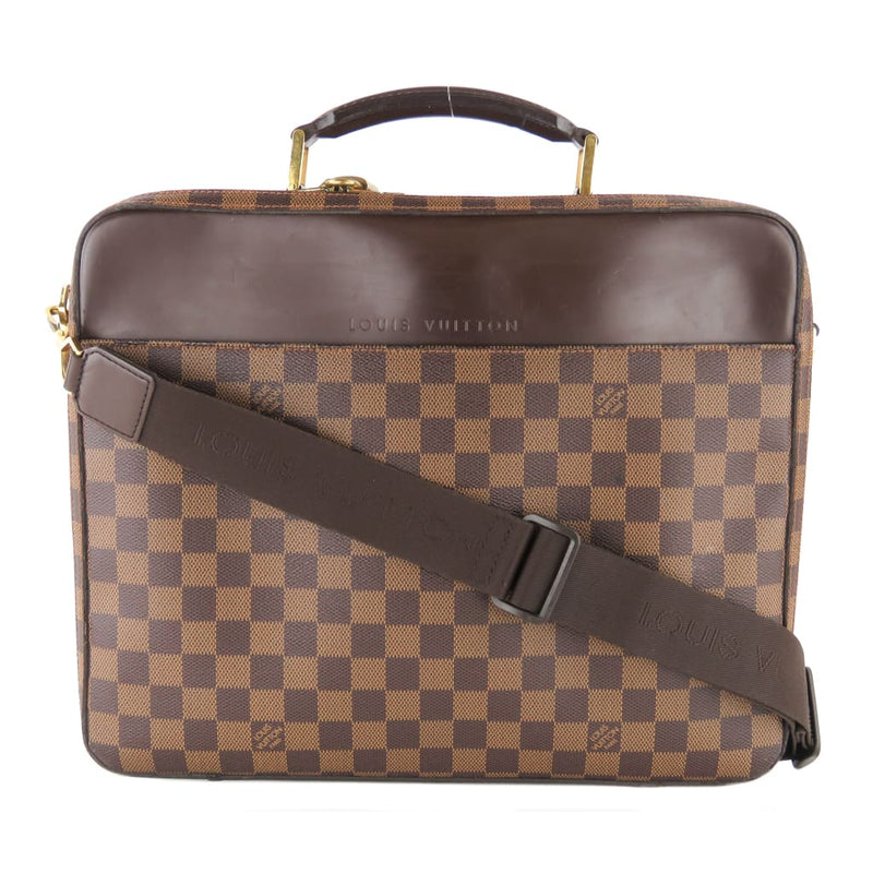 Louis Vuitton Ebene Damier Canvas Porte Ordinateur Sabana Laptop Bag - Messengers/Diaper Bags