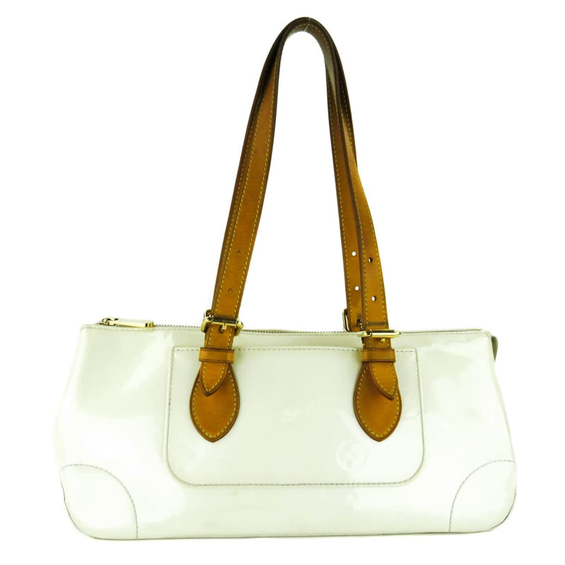 Louis Vuitton Ivory Perle Vernis Leather Rosewood Avenue Tote Bag - Totes