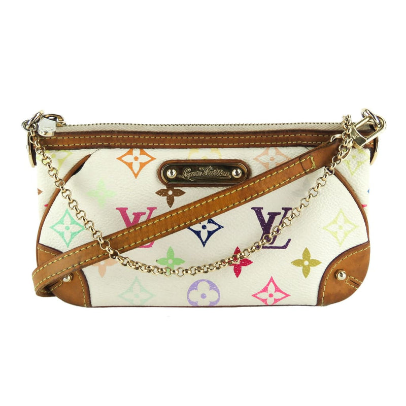 Louis Vuitton Multicolor Monogram Canvas Milla MM Pochette Crossbody Bag - Clutches