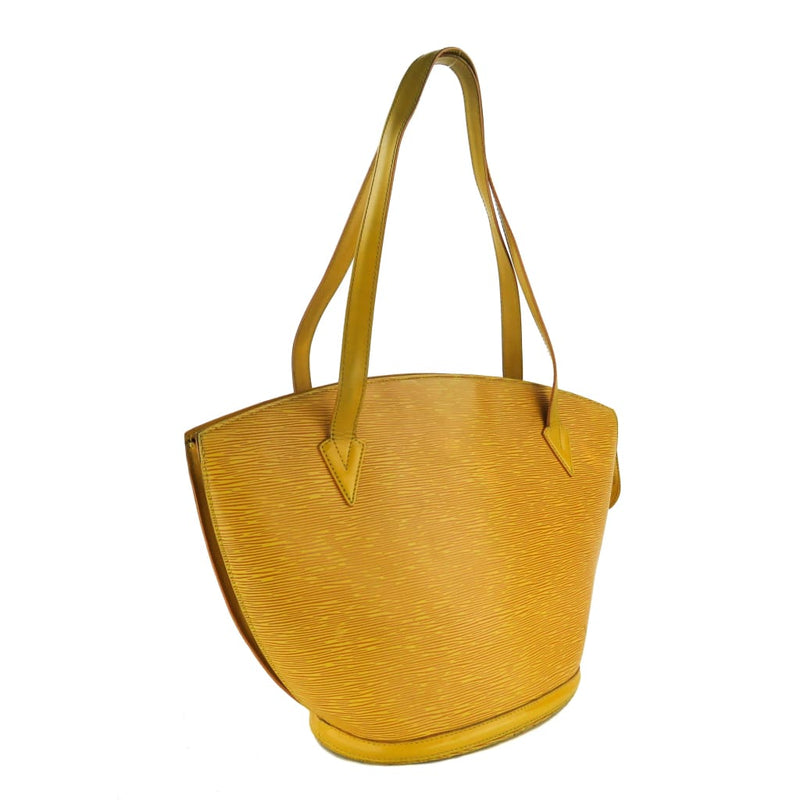 Louis Vuitton Mustard Yellow Epi Leather Saint Jacques GM Tote Bag - Totes