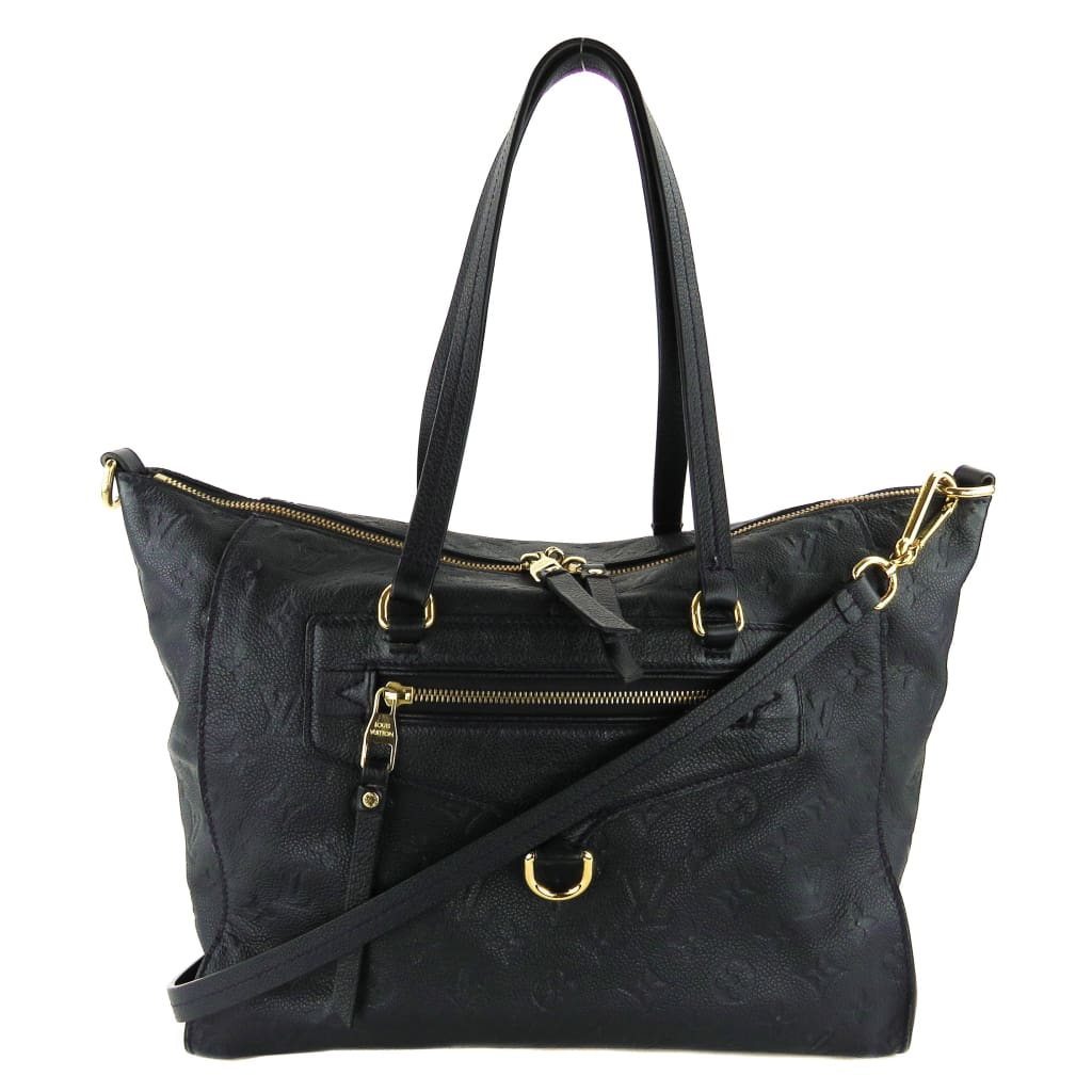 Louis Vuitton Navy Blue Empreinte Leather Lumineuse PM Tote Bag - Totes