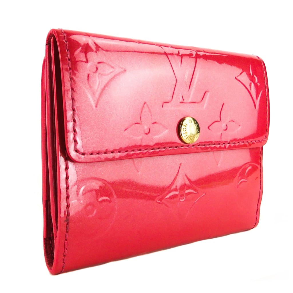 Louis Vuitton Pink Monogram Vernis Leather Ludlow Wallet - Wallet