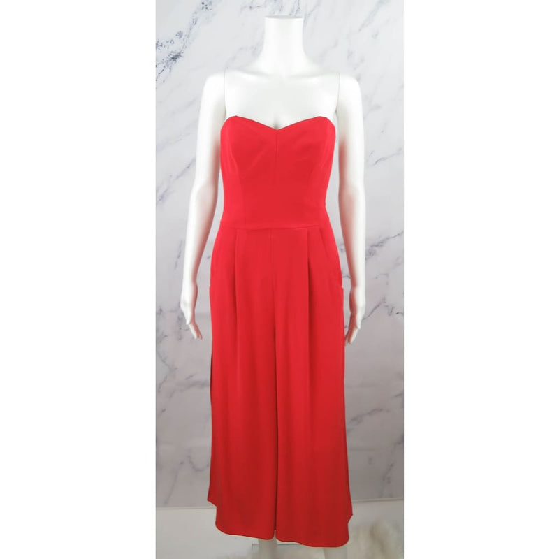 Milly Red Silk Polyester Sleeveless Size 2 Jumper - Jumper