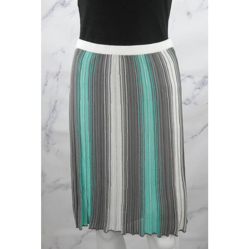 Missoni Teal Multicolor Cotton Viscose Size 4 Skirt - Skirt