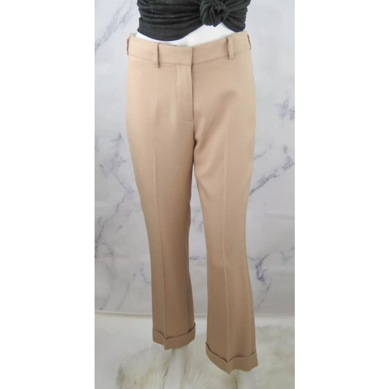 Stella McCartney Beige Rayon Viscose Size 38 Slack Pants - Slacks