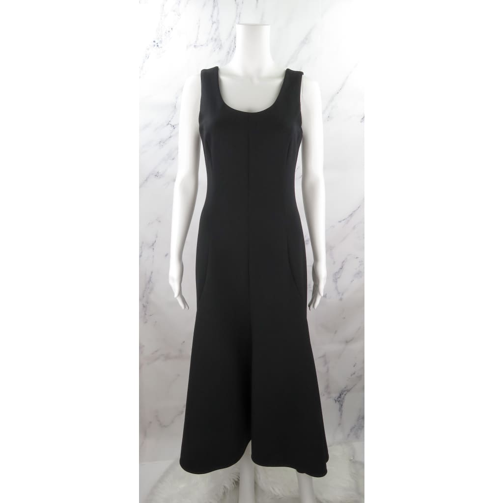 Stella McCartney Black Wool Size 38 Sleeveless Dress - Dresses